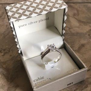 Jewelry - 🎄4/$20 Cubic Zirconia ring 🎁